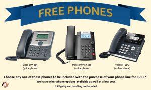 Free VoIP phones
