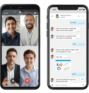 Mobile Communications, Conferencing and Chat